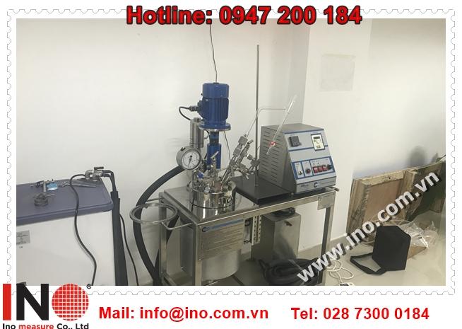 hệ thống autoclave lò phản ứng hóa học